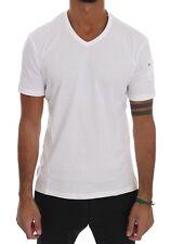 Daniele Alessandrini Shirt White Cotton Embroidered Casual S. It38 / XS
