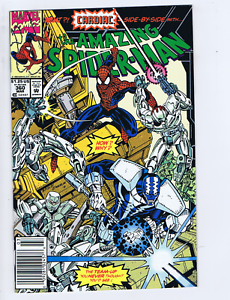 Amazing Spider-Man #360 Marvel 1992 1st appearance of Carnage in cameo