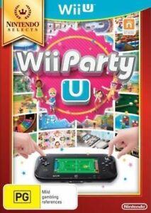 Wii-Party-U-Nintendo-Selects-Nuovo-di-zecca-Wii-U-spedizione-il-giorno-stesso-1st-Class-consegna