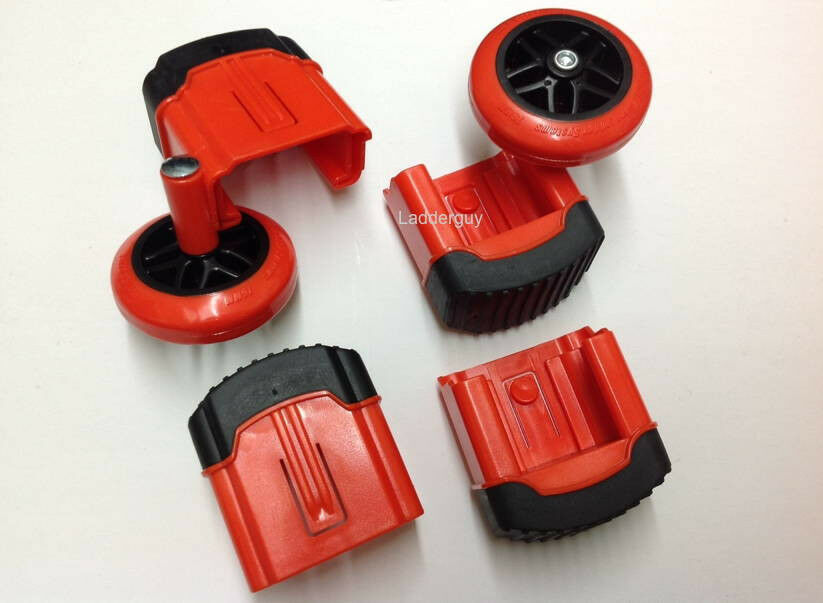 Wheel foot kit for Revolution, Xtreme, Velocity and LT Little Giant Ladders feet