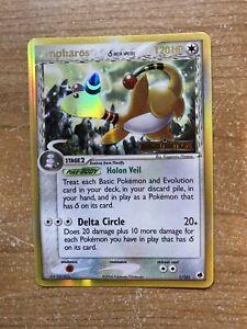 AMPHAROS-1-101-Delta-Species-Rare-Holo-EX-Dragon-Frontiers-Pokemon-Card