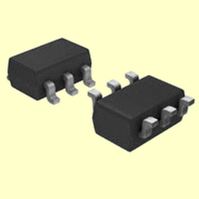10 pcs. FDC6318P  Fairchild MOSFET P-Channel  DUAL  12V 2,5A  700mW  SOT23-6 #BP