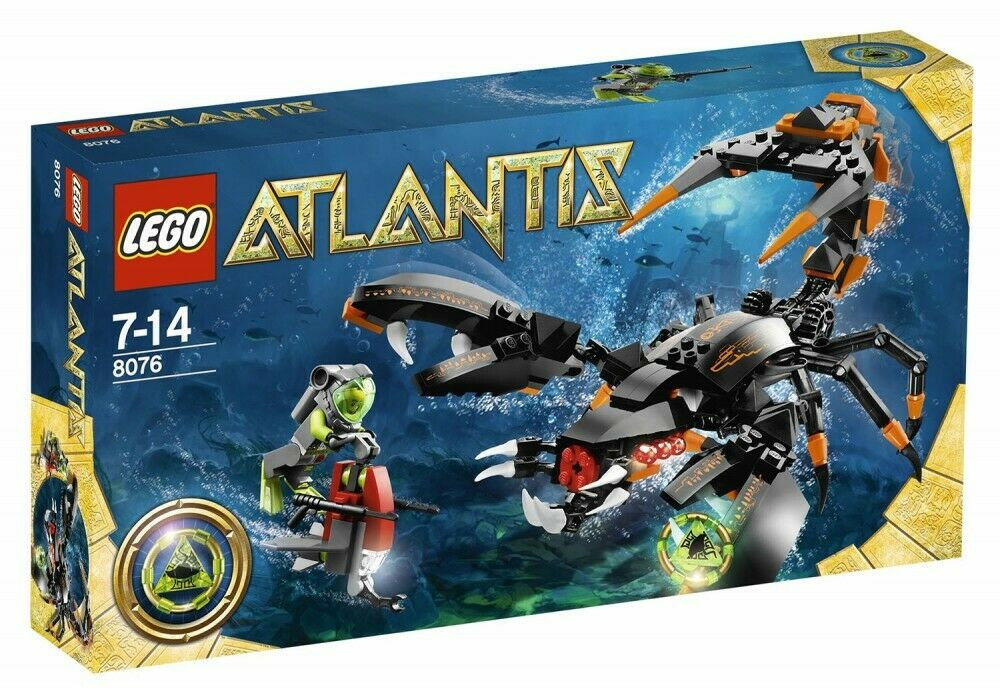 LEGO  Atlantis 8076 - Deep Sea Striker - NEUF nouveau, SCELLÉE SEALED  choisissez votre préférée