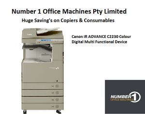 Canon IR ADVANCE C2230 Colour Copy, Network Print/ Scan, Fax, 1 Year Warranty