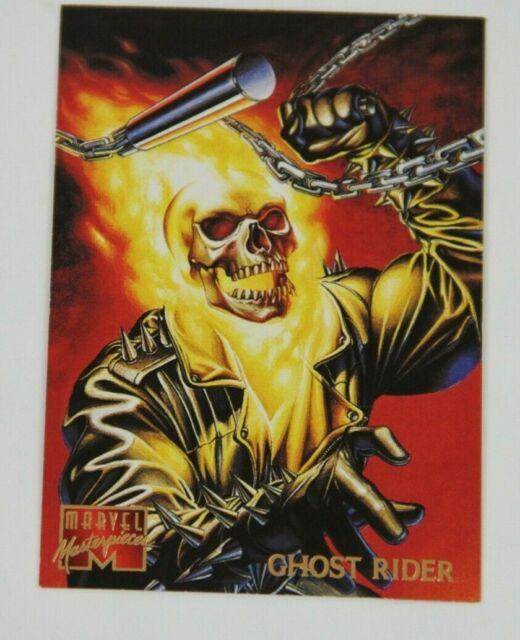 1995 FLEER MARVEL MASTERPIECES GHOST RIDER #38