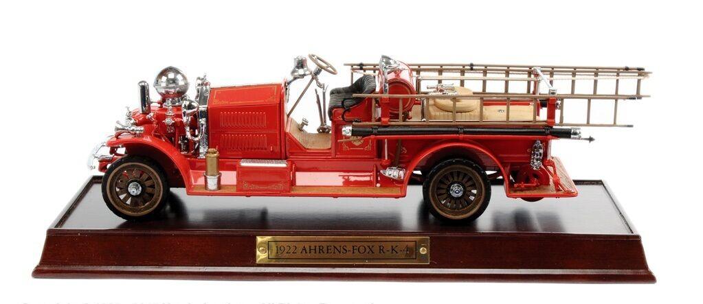 Neues von franklin mint 1922 ahrens fox feuerwehr rk4 pumper