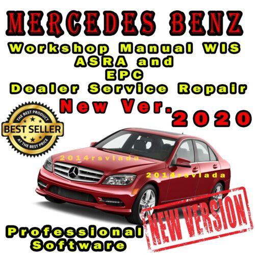 NEW 2020 Mercedes Workshop Manual WIS ASRA and EPC Dealer Service Repair