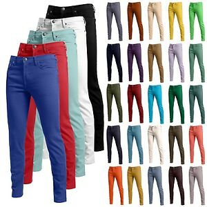 Mens Premium 30 Color Fashion Skinny Fit Pants Stretch Jeans Size ...