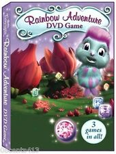 Barbie Fairytopia Magic of the Rainbow Adventure (DVD Game) 3 Games in All!