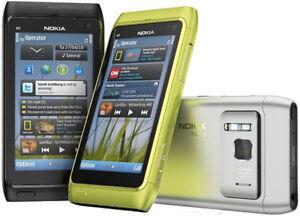 Nokia-N-Series-N8-00-Unlocked-12MP-3G-GPS-WIFI-3-5-034-Smartphone-Multi-Color