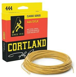 Cortland-444-SYLK-Double-Taper-Fly-Line-ALL-SIZES-FREE-FAST-SHIPPING