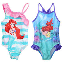 Girls Kids Bathing Suit Swimwear Bikini Tankini Swimsuit Swimming Costume 2-7Y
