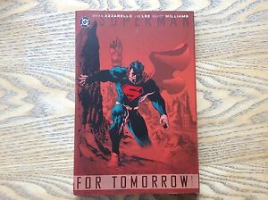 Superman-For-Tomorrow-Volume-1-Hardback-Graphic-Novel-Look-In-The-Shop
