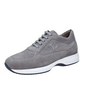 Chaussures-Hommes-TRIVER-FLIGHT-42-UE-Baskets-gris-daim-bt940-42