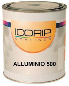 Icorip 500 ml smalto alluminio brillante per alte temperature prodotti per ferro