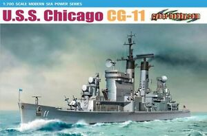 DRAGON 7121 1/700 U.S.S. Chicago CG-11