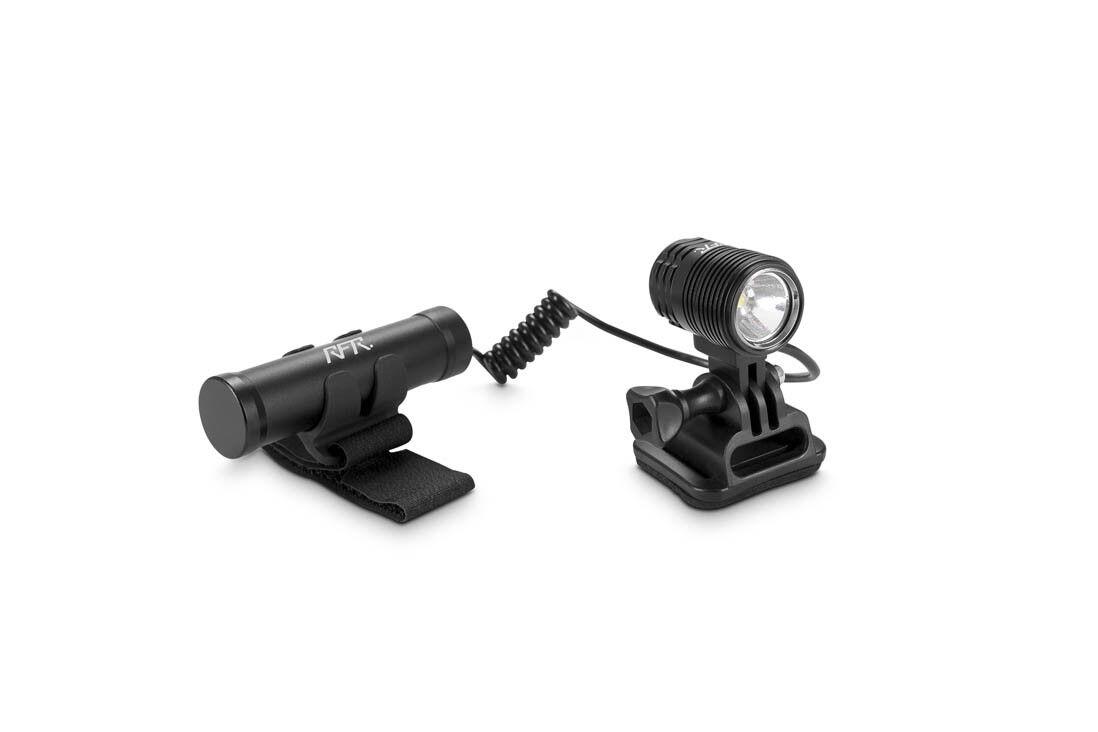 RFR RFR RFR Power-Licht 800 Fahrrad Helmlampe schwarz 4f4d68