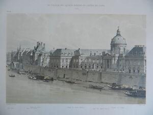 gravure-Paris-Seine-Hotel-de-Conti-college-Quatre-Nations-Firmin-Didot