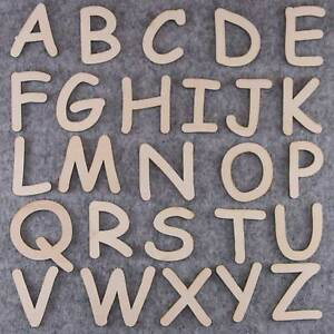 Details about Comic Sans Font Alphabet Set 3 or 6mm Plywood Capital Letters  A-Z 26 Characters