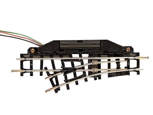 Roco 32401 H0e elektrische Weiche links 24 Grad