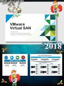 Details about VMware virtual standard SAN 🔑 vSAN key only activat