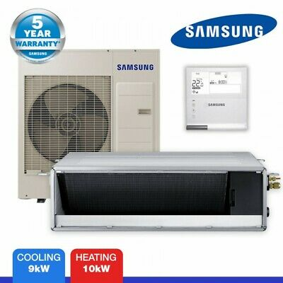 Samsung Ducted Air Conditioner 9kw Ac090hbhfkh Sa Ebay