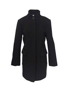 noir 2 1024L3 Manteau Hivertaille boutonné dissimulé pour Bertin femmes 1747 nwP0Ok