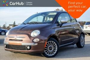 2014 Fiat 500 Lounge|Sunroof|Bluetooth|Leather|Heated Front Seat
