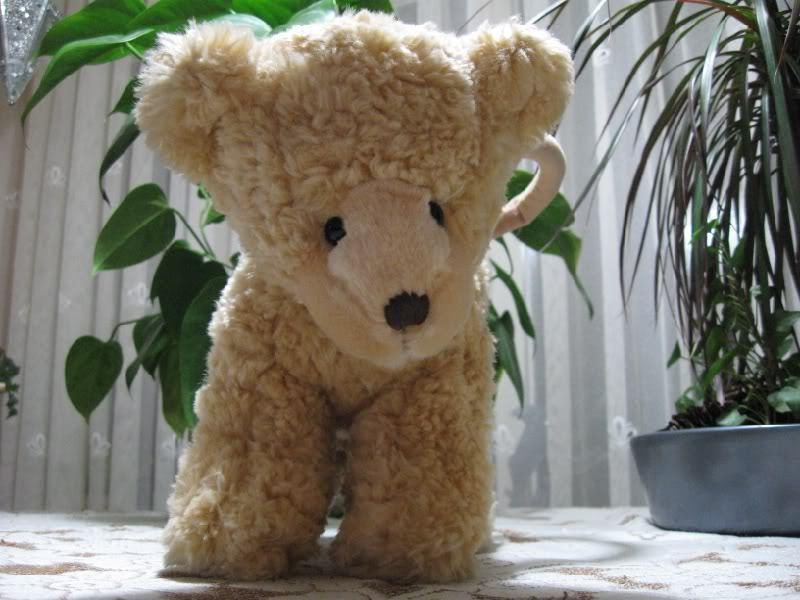 Russ Berrie UK Teddy Bear Bear Bear Zipperot Plush Hand Bag a8393d