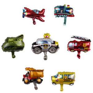 Mini-transport-aircraft-car-aluminum-balloon-Festival-Party-Decoration-3C