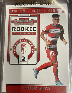 2019-20 Panini Chronicles Contenders Rookie Ticket Carlos Neva RC