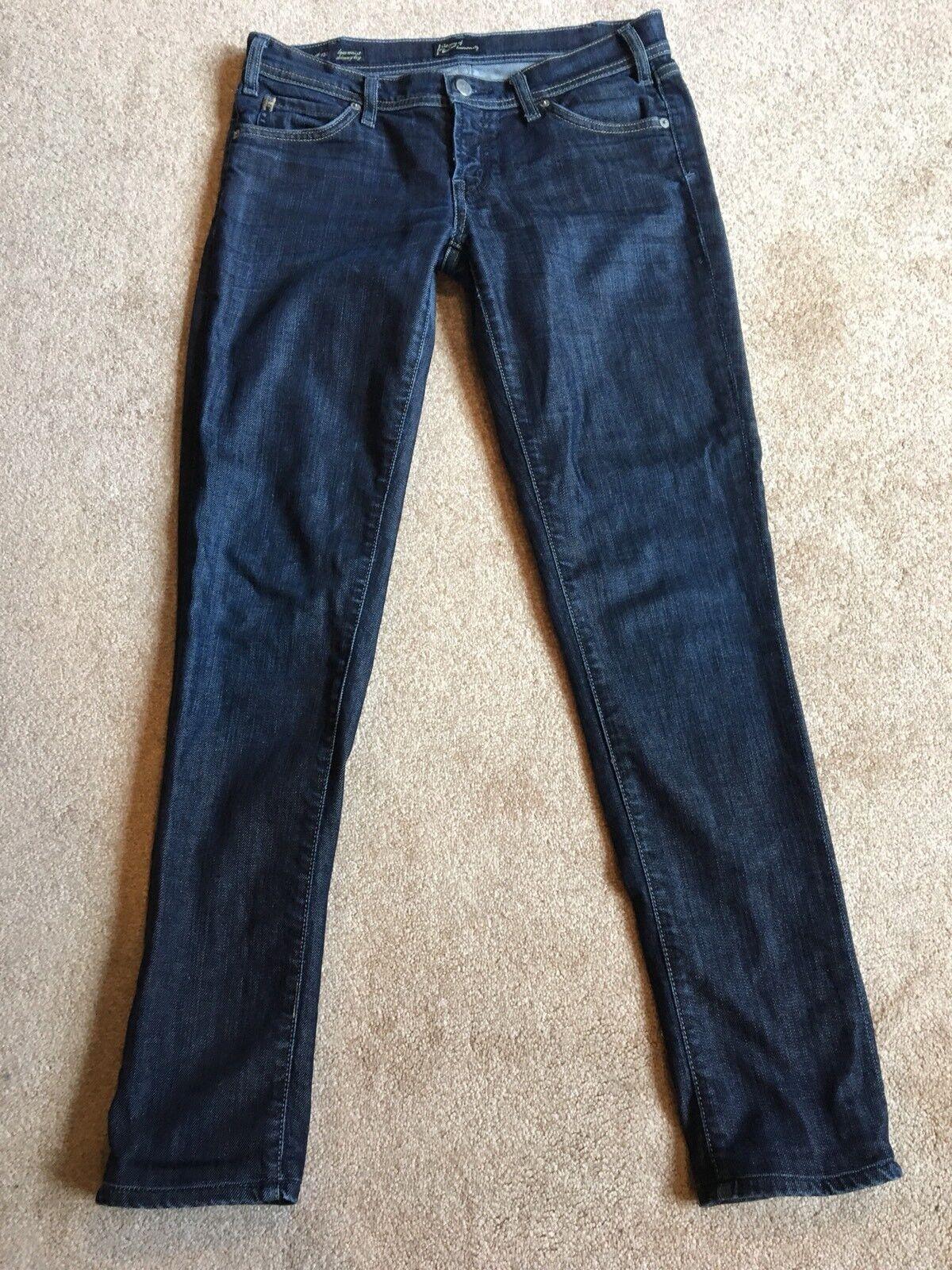EUC Citizens of Humanity Low Waist Skinny Leg Avedon 133 Stretch Jeans