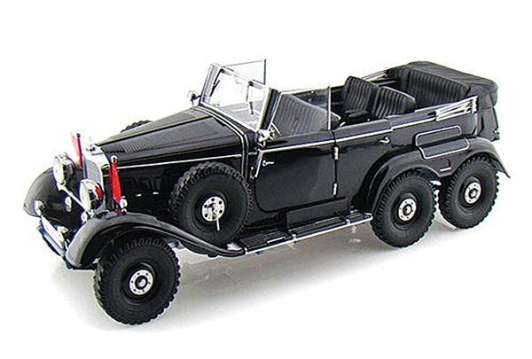 Firma 1 43 Alemana Segunda Guerra Mundial (1938) Mercedes Benz G4 Modelo Diecast Parade Coche