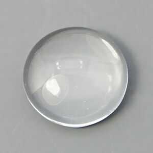 40-Cabochon-Klare-Glas-Schmuck-Halb-Rund-12-mm-Basteln-Super-Optik-R185
