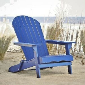 Astounding Details About Solid Wood Folding Adirondack Chair Navy Blue Outdoor Patio Lounger Furniture Cjindustries Chair Design For Home Cjindustriesco