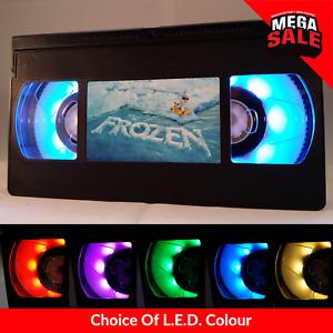 Retro-USB-VHS-Lamp-LED-Light-Disney-Pixar-Frozen-Olaf-Present-Gift