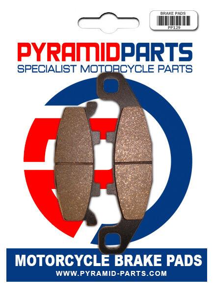 Front brake pads for Kawasaki KLE500 91-07