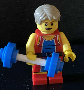 Lego-2012-London-Olympics-TEAM-GB-merveilleuse-L-039-halterophile-figurine-8909