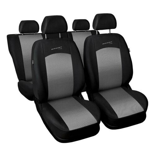 Universal auto referencias sede para Fiat Seicento plata fundas para asientos ya referencias referencia