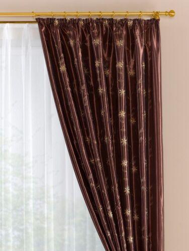 Vorhang H 175cm 2x  Br 140cm  übergardine Dekogarnitur Seitenschals Store