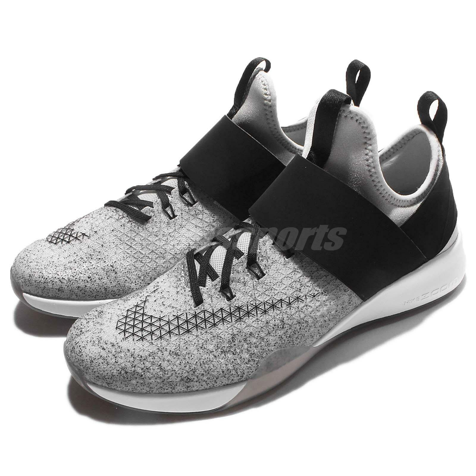 Wmns Nike Air Zoom Zoom Zoom fuerte gris Negro para Mujeres Training zapatos Trainers 843975-100 6a44cc