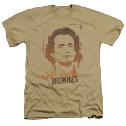 Taxi TV Show Jim BLAME IT ON THE BROWNIES Heather T-Shirt All Sizes