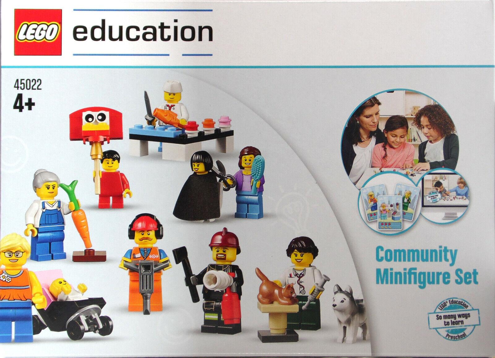 LEGO Education 45022 STATUINE SET Comunità Community M.  azione autoTE NUOVO  perfezionare