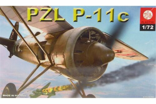 PLASTYK S043 1//72 PZL P-11c