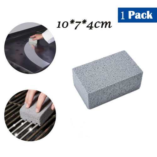 1//2//3//4 Pc BBQ Griddle//Grill Cleaner,BBQ Barbecue Scraper Griddle Cleaning Stone