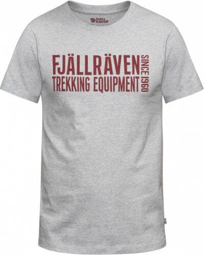 Fjällräven Equipment blocco T-shirt uomo-GREY