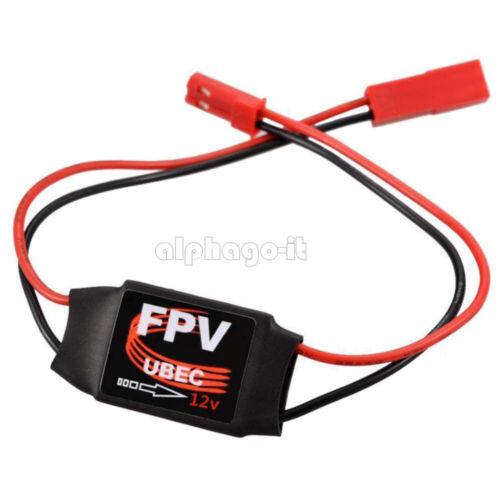 UBEC 12V 5V 3A FPV Mini BEC 4-6s Lipo VTX DC-DC Converter Step Down Module