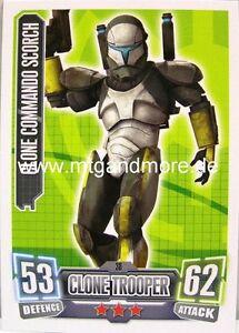 Force ATTAX série 2 clone-commando Boss #036