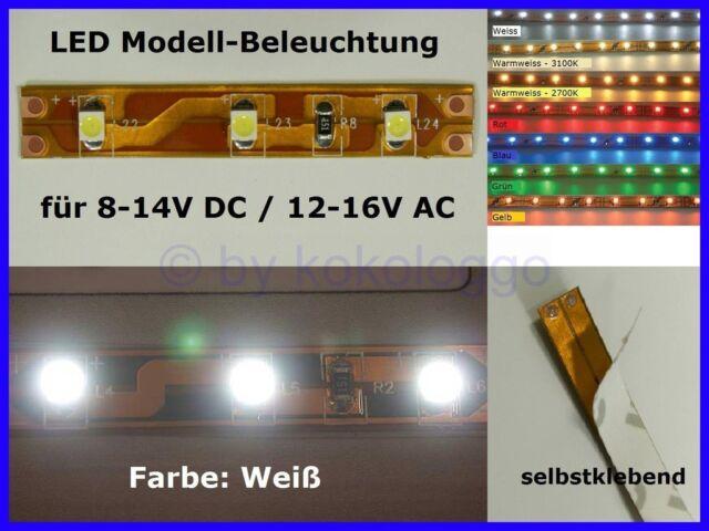 LED Lighting White 5cm 8-16V Interior Lighting Fair Disco Houses Circus S333