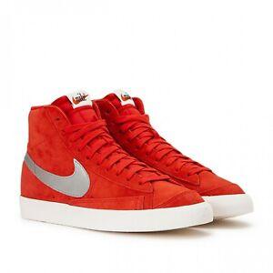 Dettagli su Nike Blazer '77 Mid (RossoArgento)